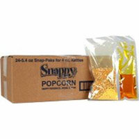 Snap-Paks for 4 oz. Poppers (24 - 5.4 oz. packs)