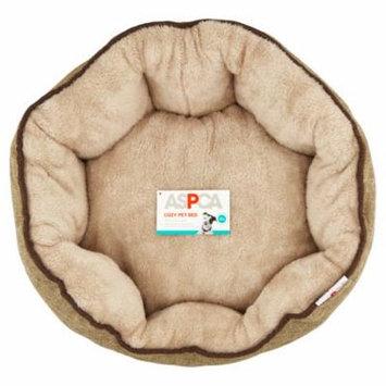 ASPCA Tan Cozy Pet Bed
