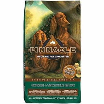 Pinnacle Grain Free All Life Stage Grain-Free Chicken & Vegetable Recipe Dry Dog Food, 4 Lb