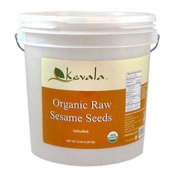 Kevala Organic Raw Sesame Seeds 4 lb (Unhulled)