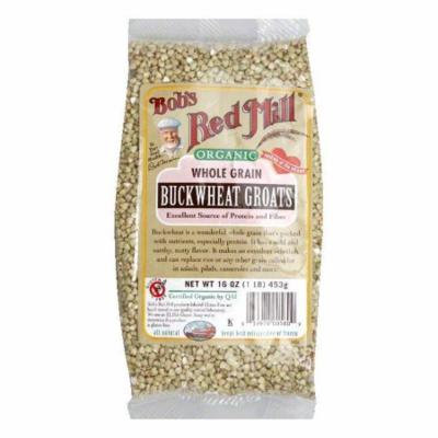 Bobs Red Mill Organic Buckwheat Groat, 16 OZ (Pack of 4)