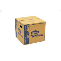 Medium Cardboard Moving Box (Actual: 18-in x 16-in) 1211260