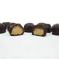 Philadelphia Candies Homemade Coffee Creams, Dark Chocolate 1 Pound Gift Box