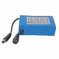 MG Electronics 12V Lithium-Ion Rechargeable Battery Set