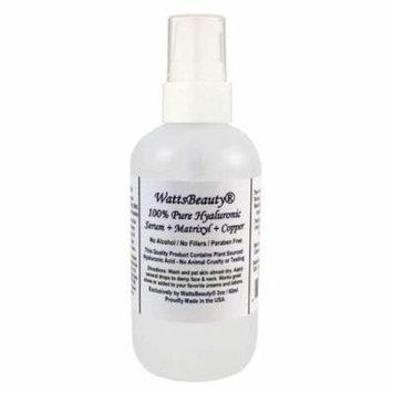 Watts Beauty 100% Pure Hyaluronic Acid Peptide Wrinkle Serum, 2 oz