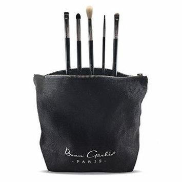 5 Piece Eye Essentials Brush Set By Beau Gachis Cosmetics