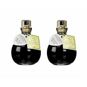 Fattoria Estense Silver Label Aceto Balsamico Di Modena Vinegar, 8.5 Fluid Ounce (Pack of 2)