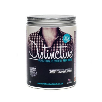 Distinctive Washing Powder/Laundry/Powder detergent/Bio washing powder/Masculine Fragranced/Eco Laundry Detergent (Pack of 1)