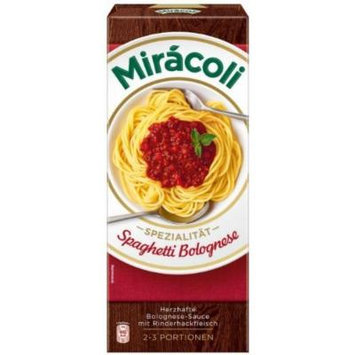 Kraft Foods: Miracoli Spaghetti Bolognese with meat - 1 x 3 pcs.