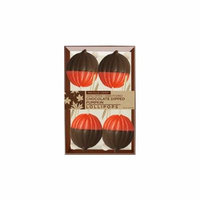 Chocolate Dipped Pumpkins 4 Pack, 3 Count