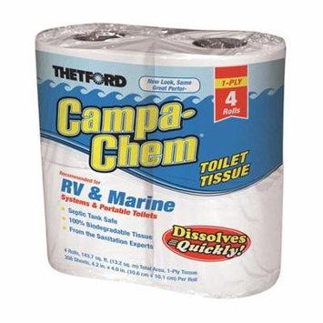 Campa Chem Toilet Tissue, 4-Pack