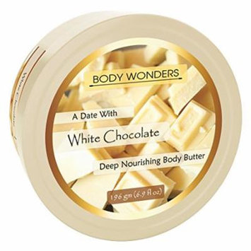 Body Wonders A Date With White Chocolate 6.9 Oz Body butter