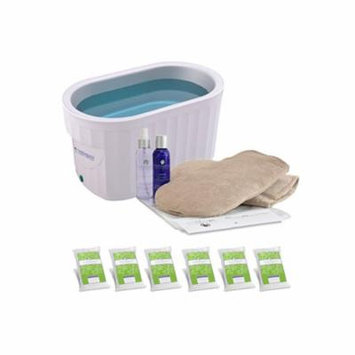 Therabath Professional Paraffin Wax Bath + Hand ComforKit ThermoTherapy Heat Professional Grade TB6 by WR Medical - 24lbs WinterGreen