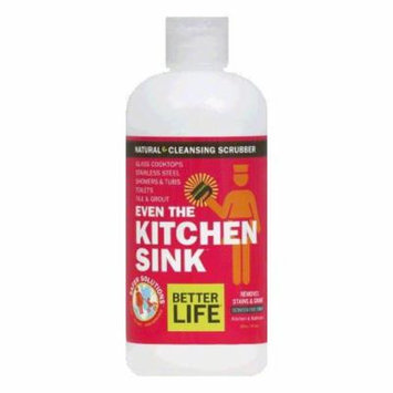 Better Life Gentle Green Scrubber, 16 Oz (Pack of 6)