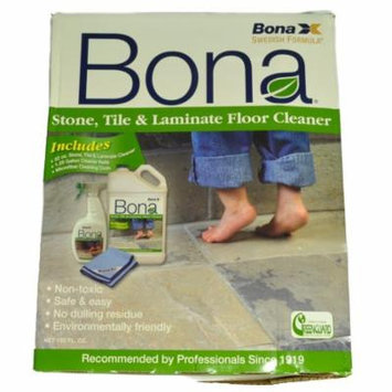 Bona X Stone, Tile And Laminate Floor Cleaner Kit