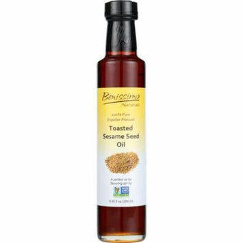 Benissimo Toasted Sesame Seed Oil Oil, 8.45 Oz (Pack Of 6)