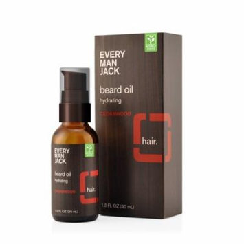 Every Man Jack Beard Oil, Cedarwood, 1 Oz