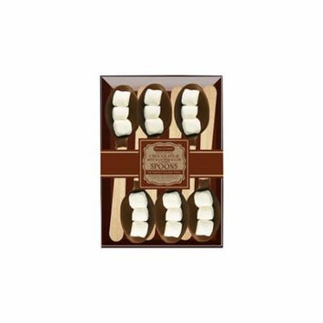 Chocolate Dipped Spoons 3 Marshmallows & Milk Chocolate, 6 Pack, 3 Count