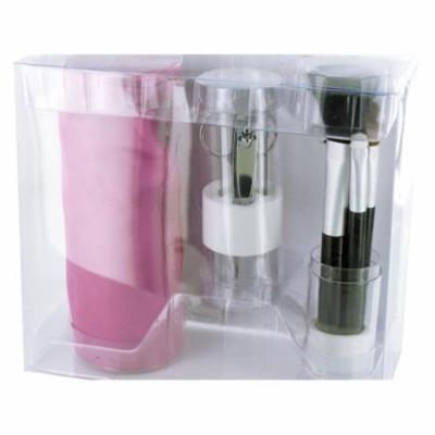Bulk Buys OL500-12 Cosmetic Brush & Tool Set - 12 Piece
