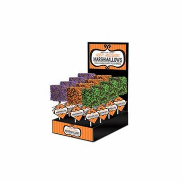 Giant Marshmallow with Halloween Sprinkles, 12 Count Display