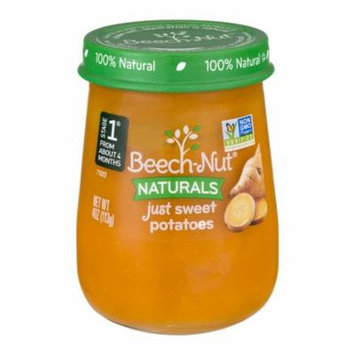 Beech-Nut Naturals Stage 1 Just Sweet Potatoes, 4 oz