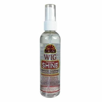 Okay Wig Shine with Oil Free Fromula, 4 Oz