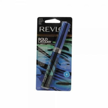 Revlon Bold Lacquer Grow Luscious Length+Volume Mascara - WP Blackened Brown (223) - 0.24 oz