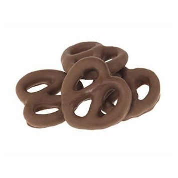 Gourmet Chocolate Covered Pretzels by Its Delish (Dark Chocolate, 10 lbs)