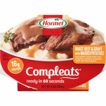Compleats Roast Beef & Gravy with Mashed Potatoes