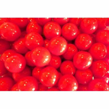 Oak Leaf Really Cherry Red Gumballs 1