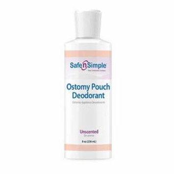 Safe N' Simple Ostomy Appliance Deodorant 8 oz.-1 Each
