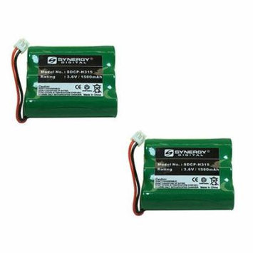 V-tech ia5877 Cordless Phone Battery Combo-Pack includes: 2 x SDCP-H315 Batteries