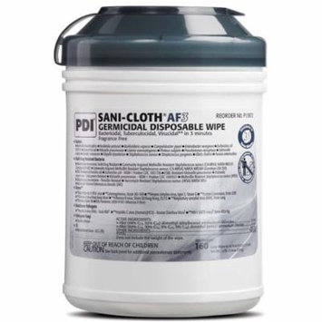 Surface Disinfectant Cleaner Sani-Cloth AF3 Wipe Manual Disposable Case of 1920