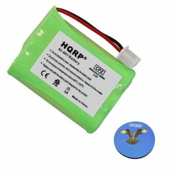HQRP Battery for Tri-tronics Trashbreaker Ultra II, Trashbreaker Ultra G2 Remote Controlled Dog Training Collar Receiver + HQRP Coaster