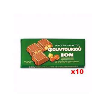 Milk Chocolate with Hazelnuts (ION) CASE (10 x 200g)