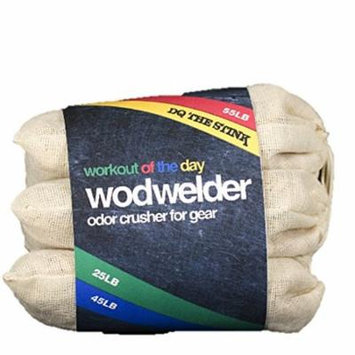 W.O.D Welder Odor Crushers for Gear, Eliminate Odor from Gym Bags & Shoes, 3 Bags