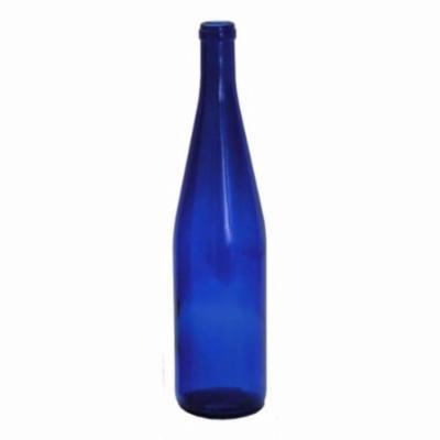 750ml Cobalt Blue California Hock Bottles, 12 per case