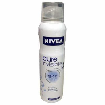 Nivea Spray Deodorant, Pure and Sensitive, 150ml