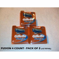 Gillette Fusion 4 (Pack of 3)