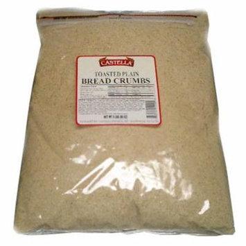 Toasted Plain Bread Crumbs, 5 lb (80oz)