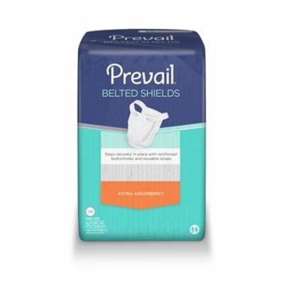 Prevail Belted Undergarment Shields, Heavy Absorbency, PV-324 - Pack of 30