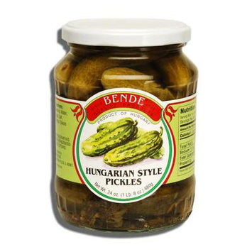 Hungarian Style Pickles, (Bende) 24oz