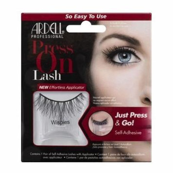 Ardell - Press On Lash Self-Adhesive - Wispies Black by Ardell
