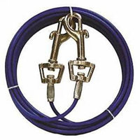 Boss Pet Products 1867571 Q231500099 Pet Tie Out for Medium Dog, 15 ft.