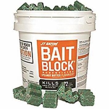 J.T. Eaton 4421087 709PN 9 lbs Bait Blocks Peanut Butter Rat & Mouse Killer