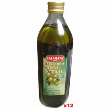 Extra Virgin Olive Oil - First Cold Pressed, CASE (12 x 1L)