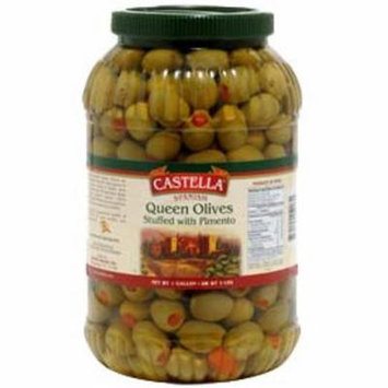 Spanish Queen Olives Stuffed with Pimento, Dr.Wt. 4.5 lbs