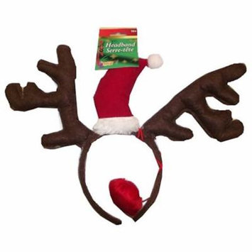 Forum Novelties Christmas Headband - Brown Reindeer Antlers