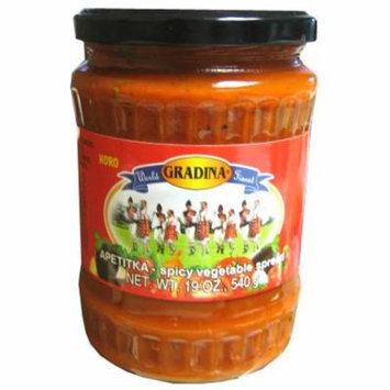 Apetitka Horo Spicy Vegetable Spread (Gradina) 19 oz (540g)