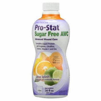 Medical Nutrition Pro-Stat Sugar-Free AWC Liquid Protein Nutritional Supplement 30 oz Bottle-Case of 4